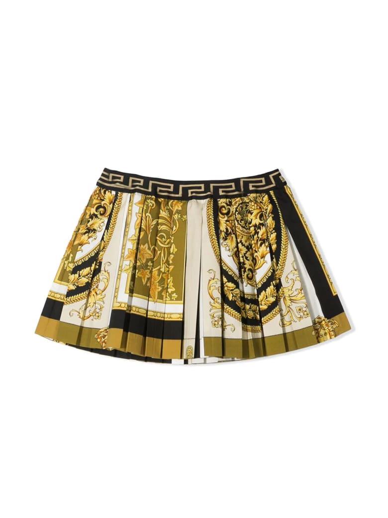 Versace Printed Skirt Young