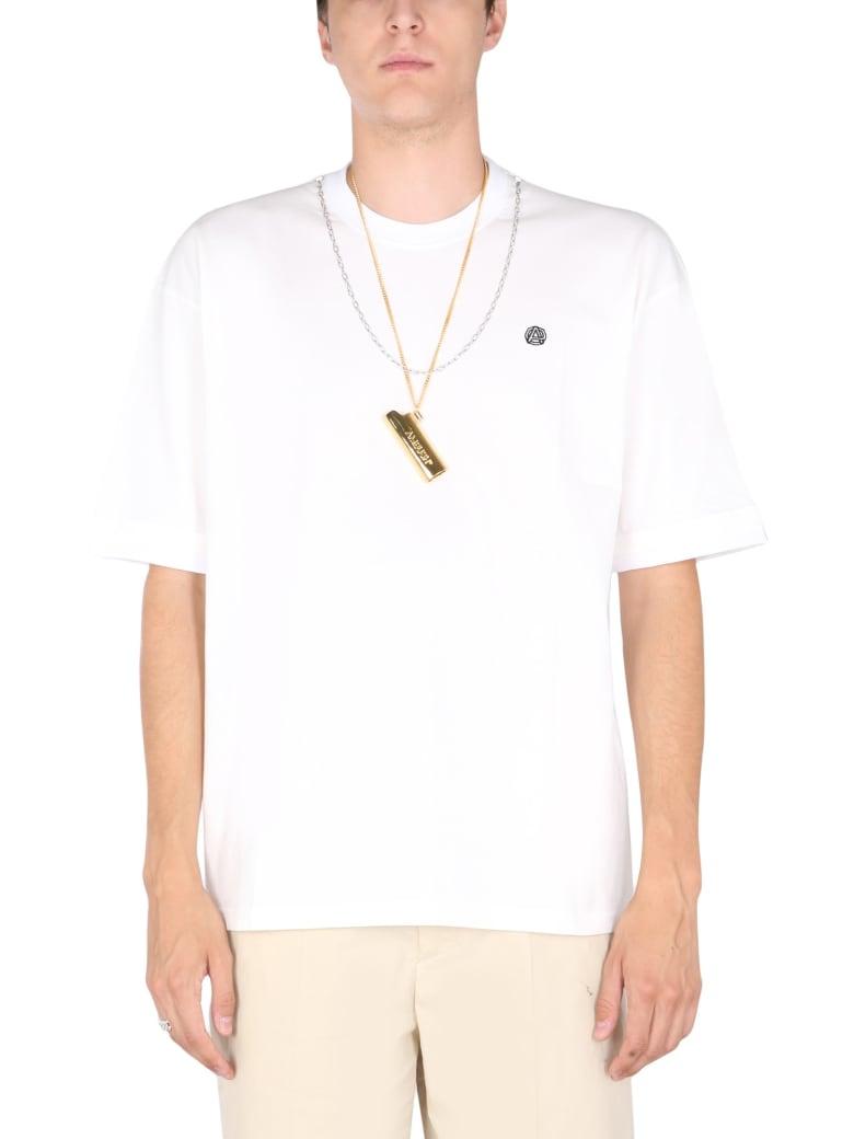 AMBUSH Chain Neck T-shirt - TOFU BLACK