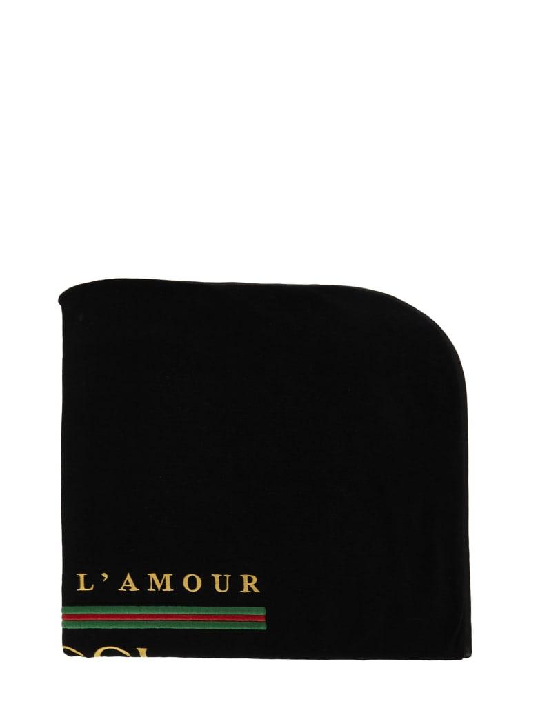 Gucci Junior Blanket - Black