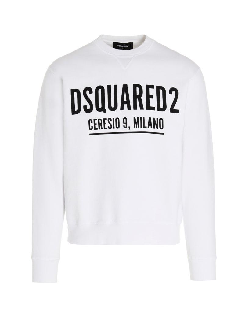 Dsquared2 'ceresio9' Sweatshirt - White