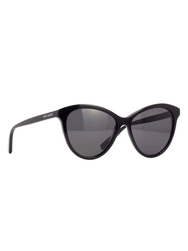 Saint Laurent SL 456 Sunglasses - Black Black Black