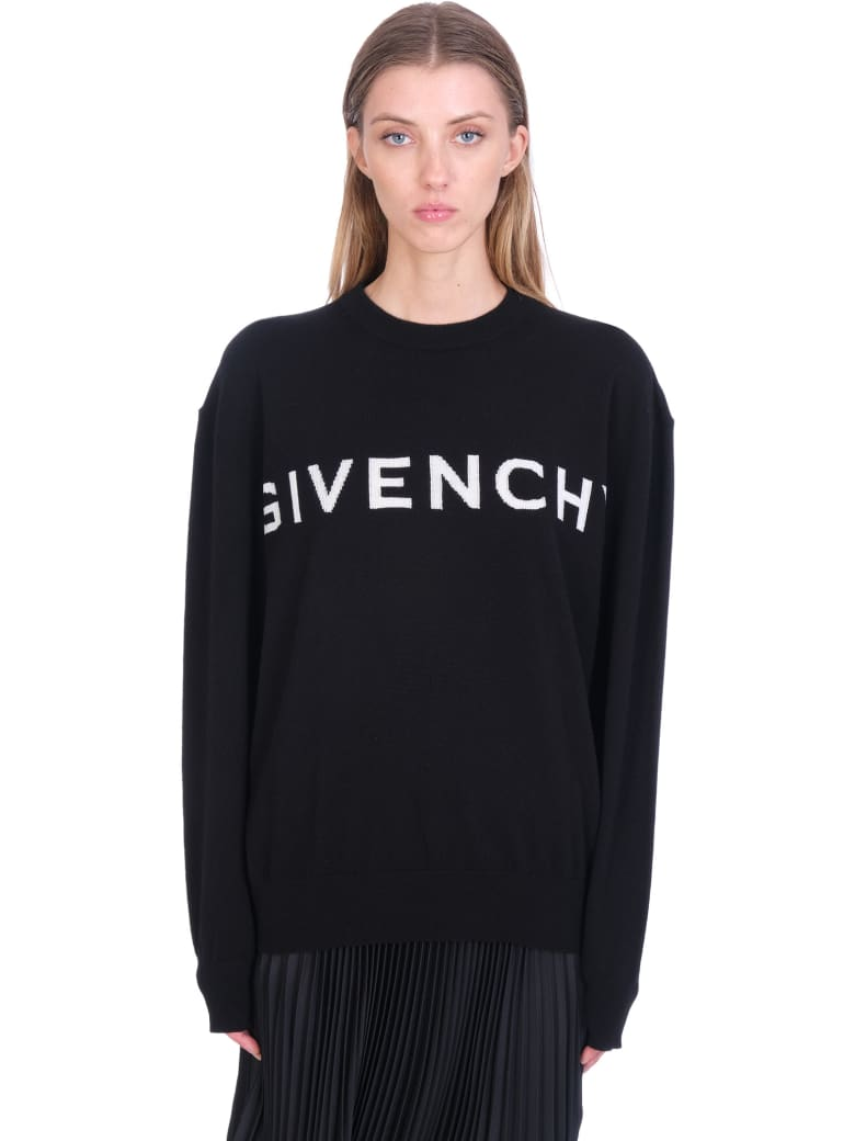 Givenchy Knitwear In Black Cashmere - black