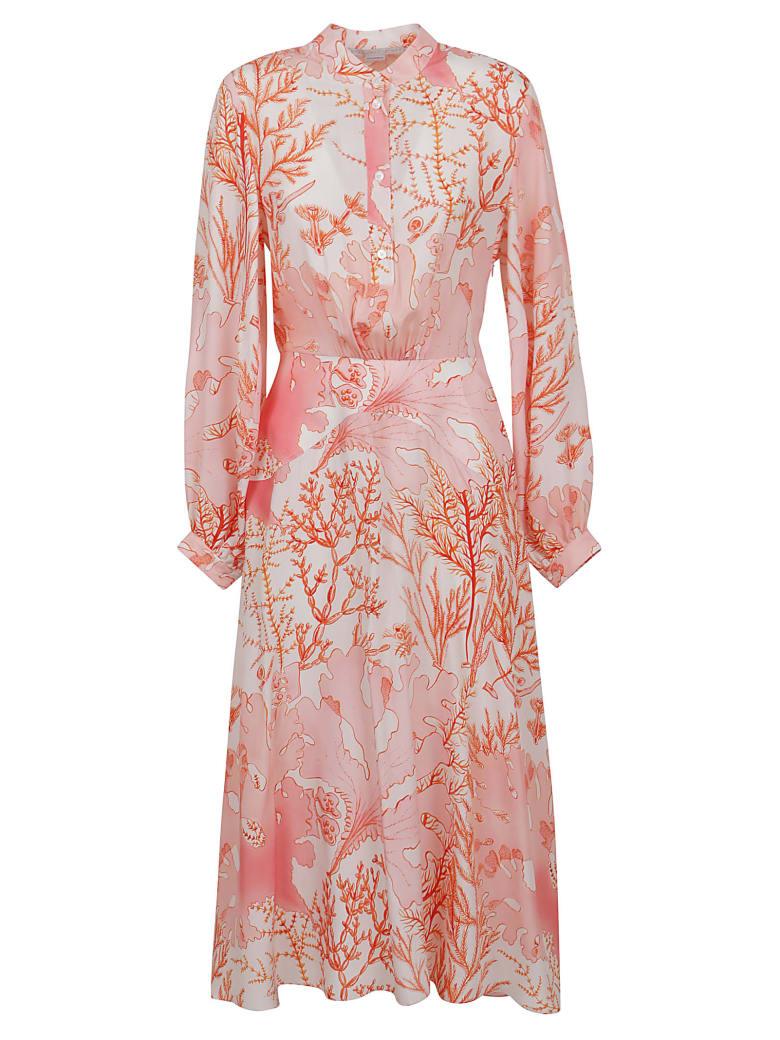 Stella McCartney Alyssa Dress - NEUTRALS/RED