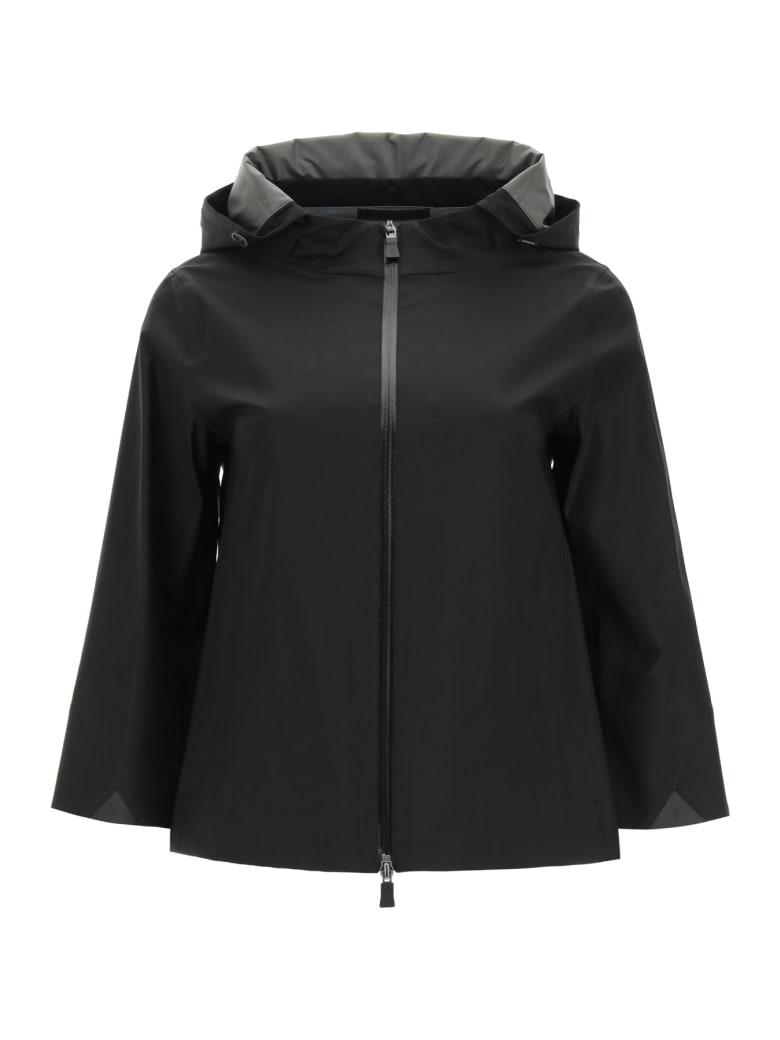 Herno Laminar Alabama Mini Cape Jacket - NERO (Black)