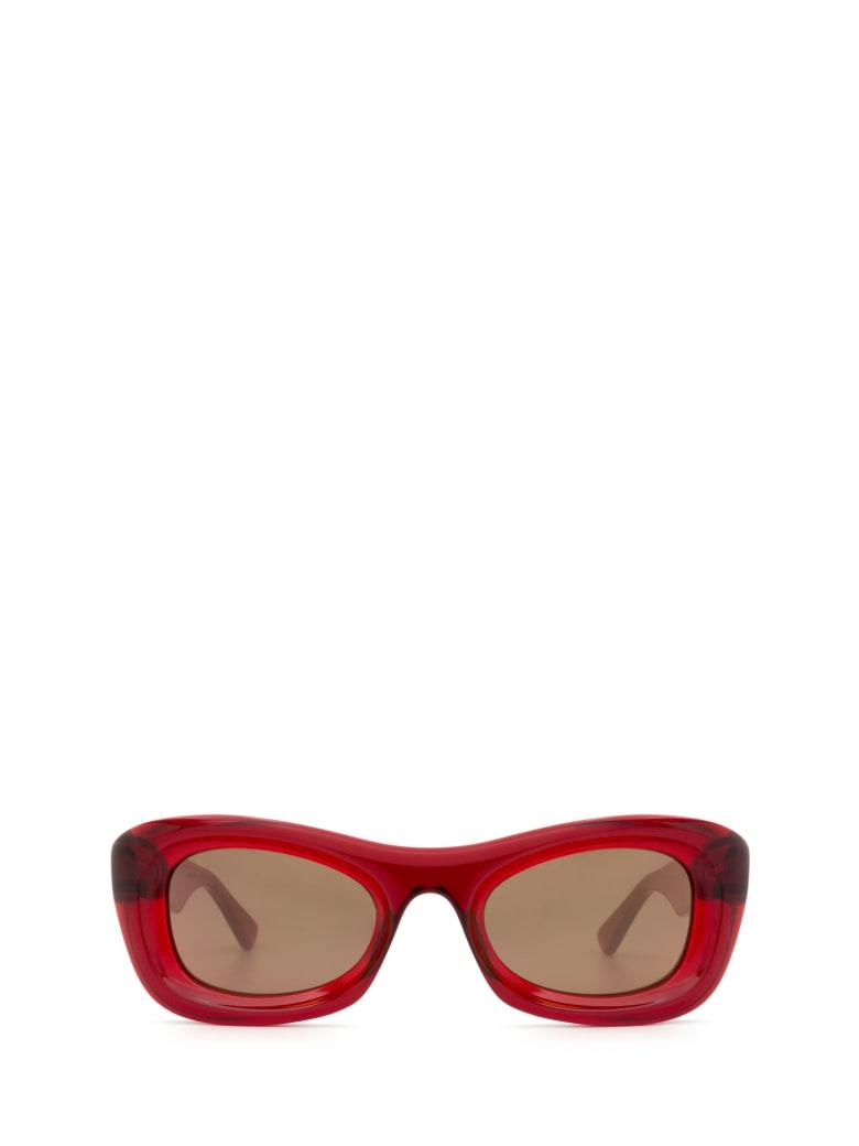 Bottega Veneta Bottega Veneta Bv1088s Burgundy Sunglasses - Burgundy