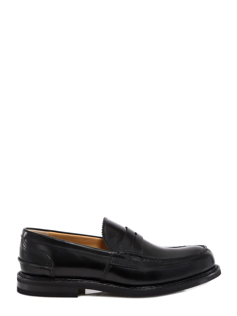 Church's Pembey Penny Loafers - Black