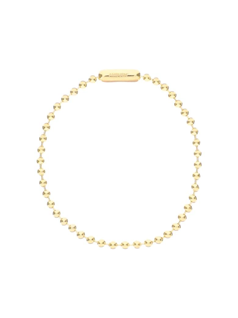 AMBUSH Choker Ball Chain Necklace - GOLD (Gold)