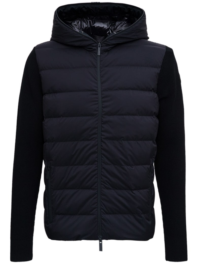 Moncler Blacktricot Down Jacket - Black