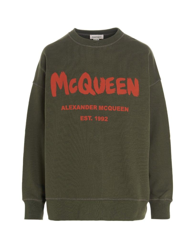Alexander McQueen Sweatshirt - Green