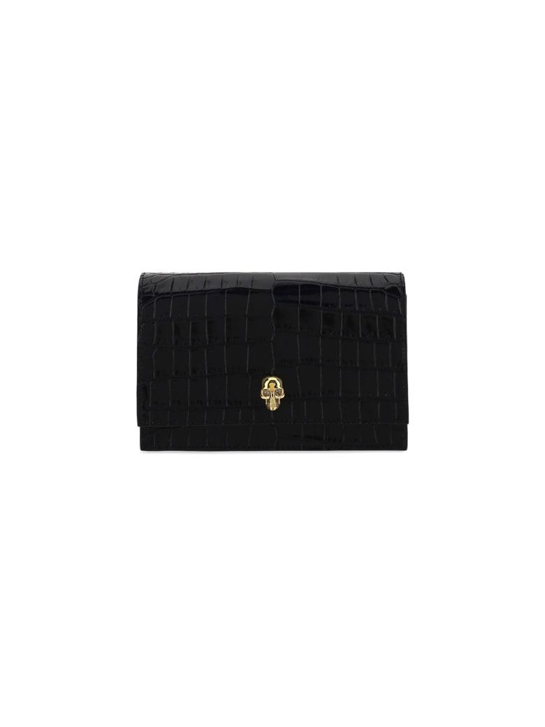 Alexander McQueen Skull Mini Shoulder Bag - Black