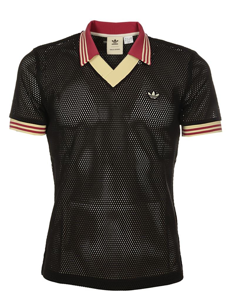 Adidas Originals by Wales Bonner Wb Mesh Polo - BLACK