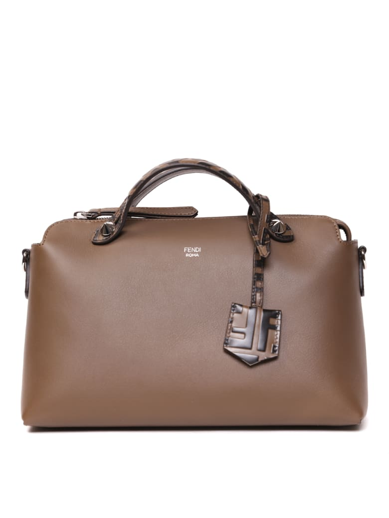 Fendi By The Way Medium Leather Bag - Brown