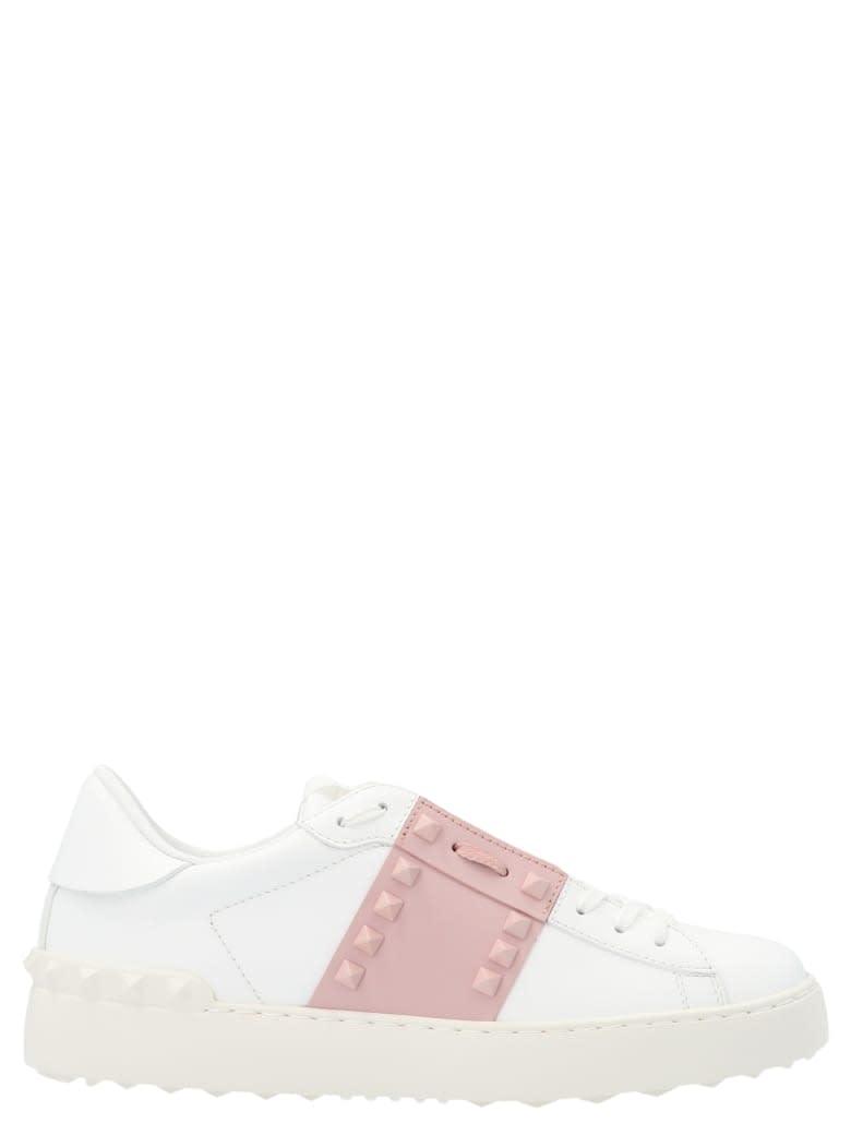 Valentino Garavani Sneaker Open Untitle - Bianco Water Rose Bianco