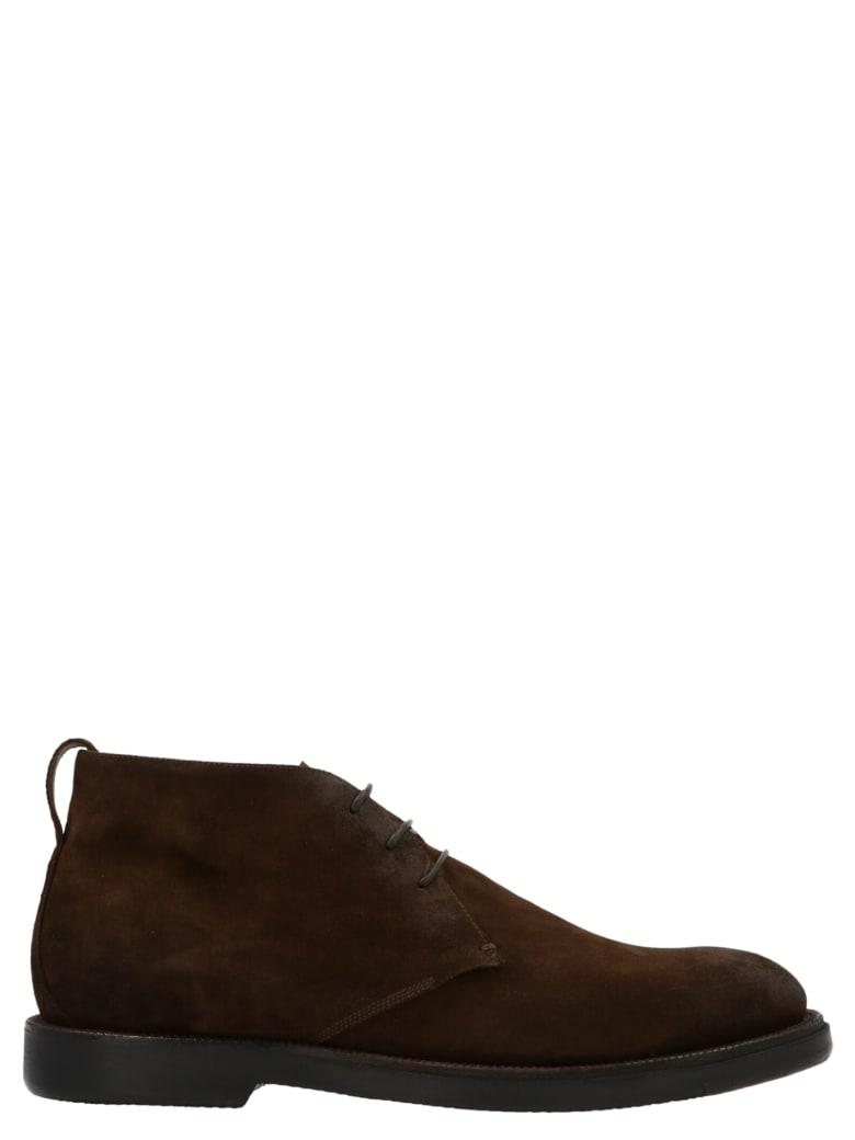 Silvano Sassetti 'desert Boot' Shoes - Brown