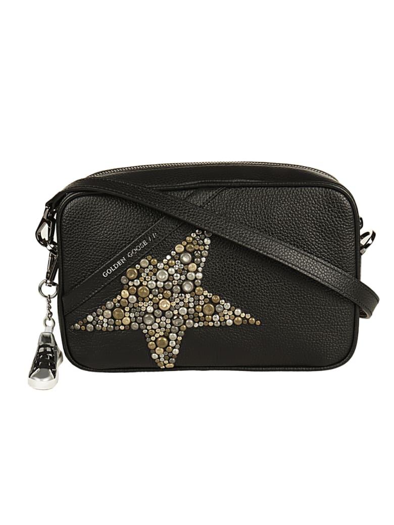 Golden Goose Star Bag Hammered Leather Body Studded Star - 90179