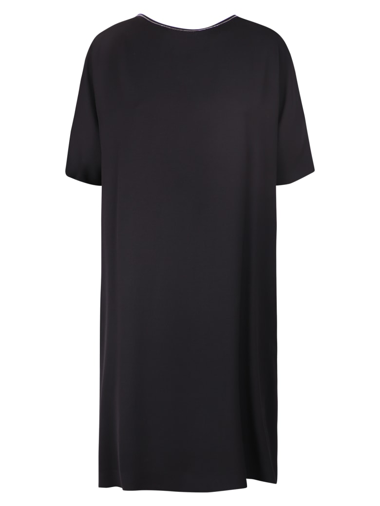 Fabiana Filippi Relaxed Fit Dress - Nero