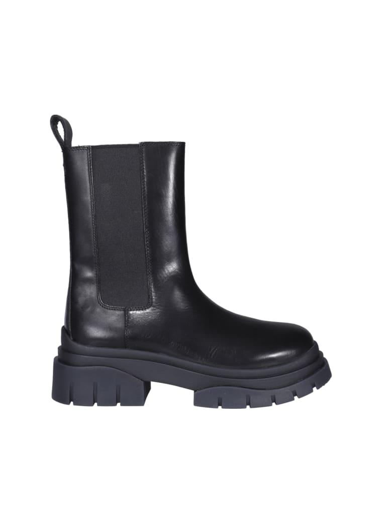 Ash Storm Ankle Boots - Black