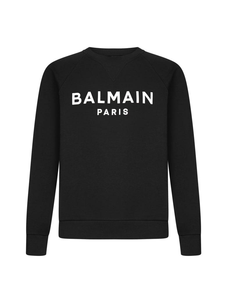 Balmain Fleece - Noir blanc