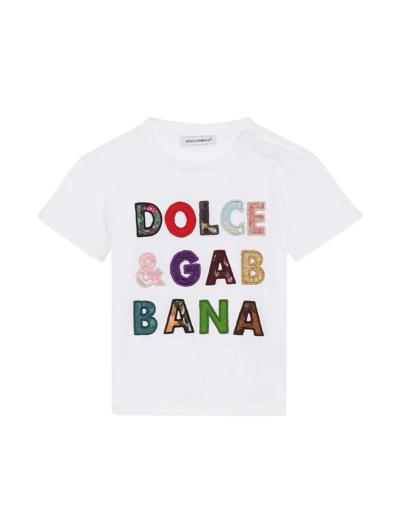 Dolce & Gabbana White Baby T-shirt - Bianco