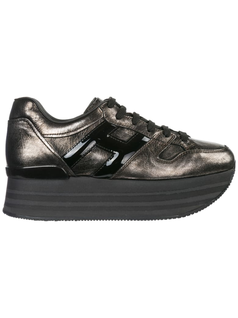 Best price on the market at italist | Hogan Hogan Maxi H222 Wedge Sneakers