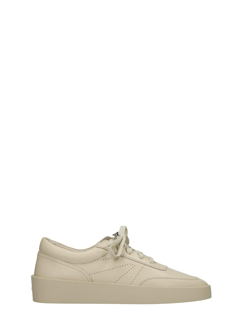 Fear of God Sneakers In Beige Leather - beige