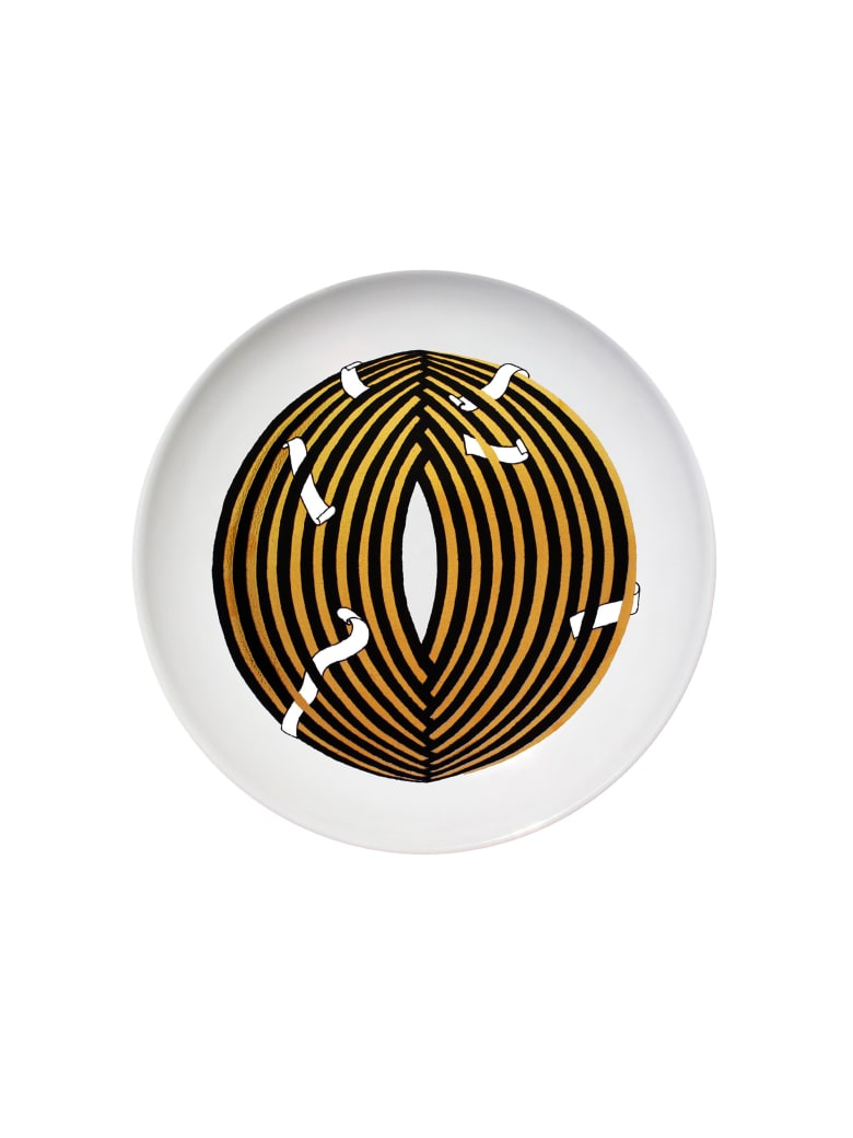 Kiasmo Dish Oneiric   Copius - Black/Gold