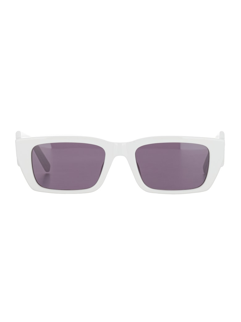 Palm Angels Palm Sunglasses - WHITE