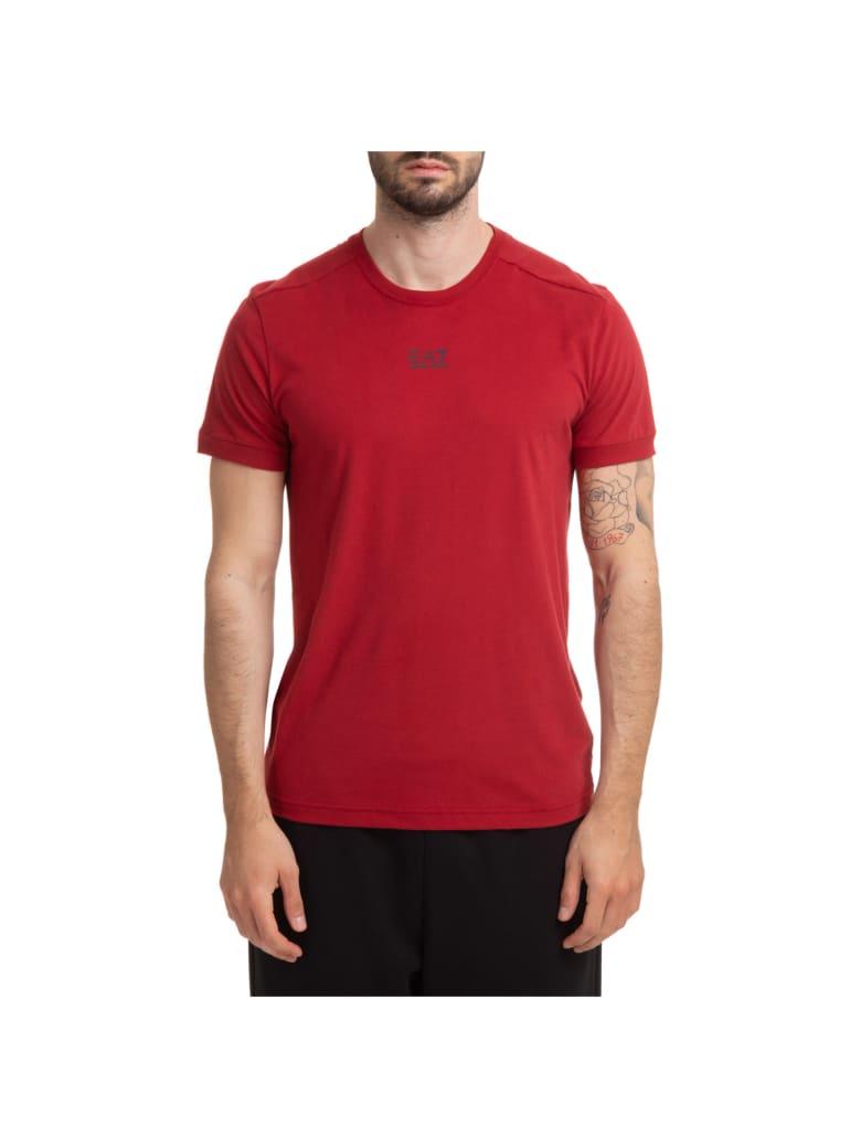 EA7 Emporio Armani Ventus 7 T-shirt - Rosso