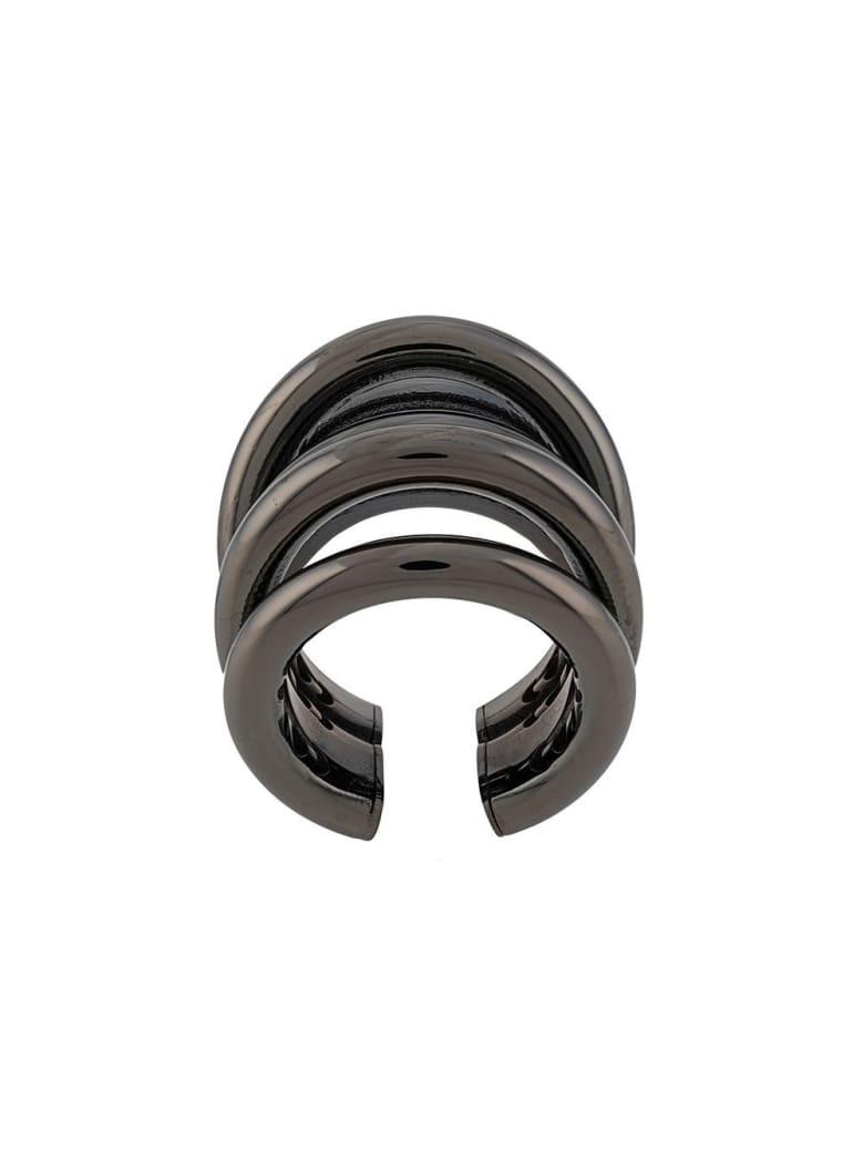 Federica Tosi Ale Bronze Ring - Grey
