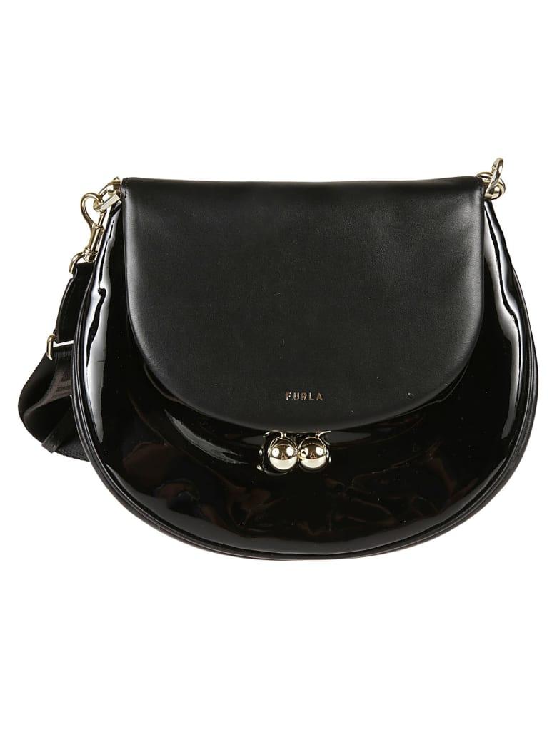Furla Small Portagioia Crossbody Bag - Black