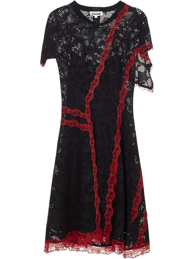 Koché Koche Mini Dress - Black