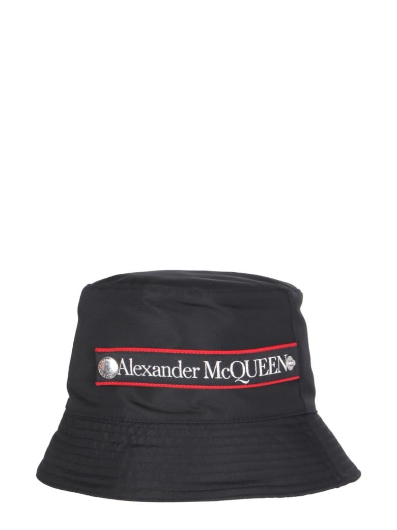 Alexander McQueen Bucket Hat - Nero