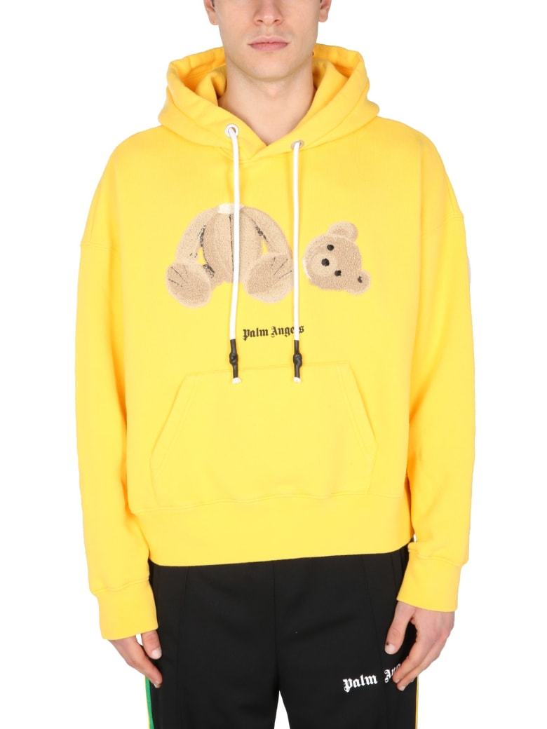 Palm Angels Hoodie - Giallo