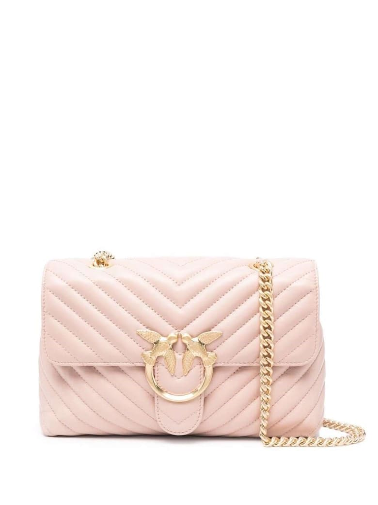 Pinko Love Lady Puff V Quilt 2 Cl - Pink