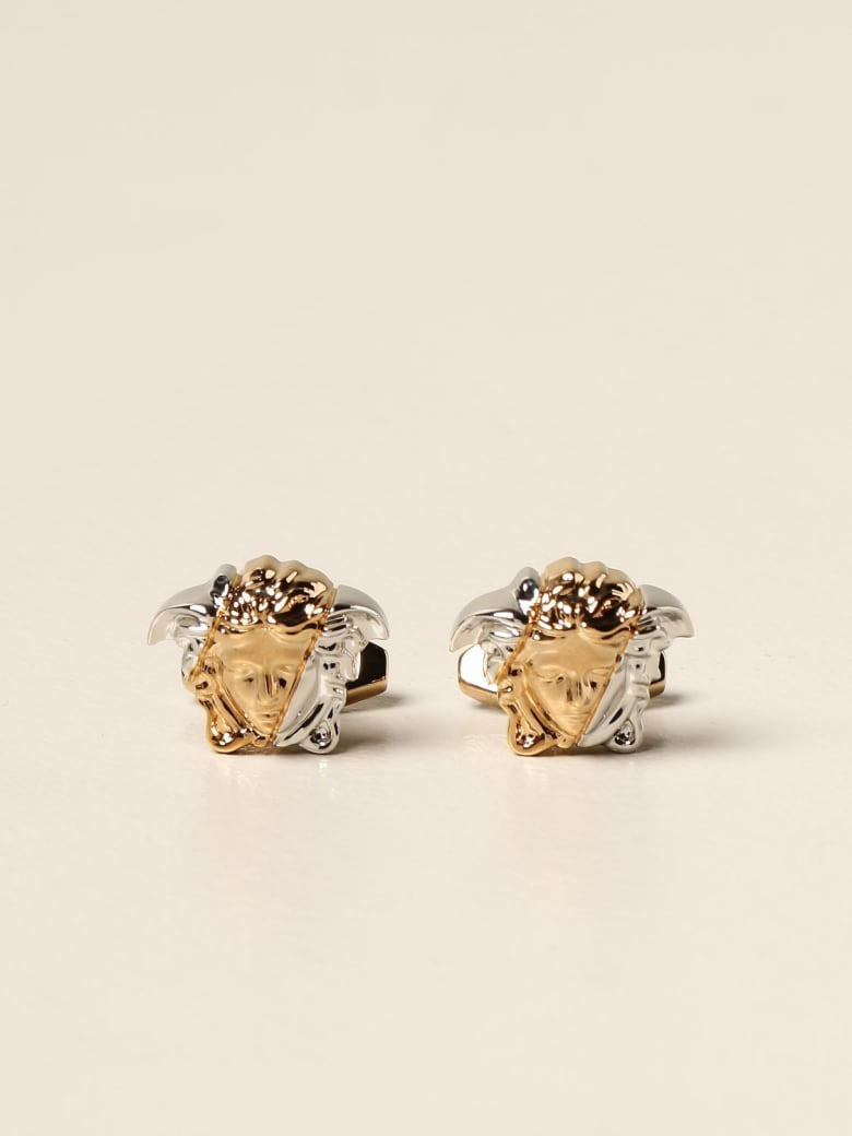 Versace Cufflinks Versace Cufflinks With Medusa Head - Gold