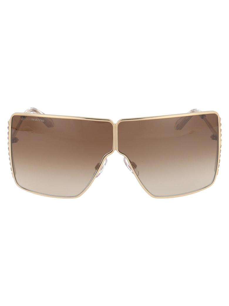 Swarovski Sk0236p Sunglasses - 32G GOLD