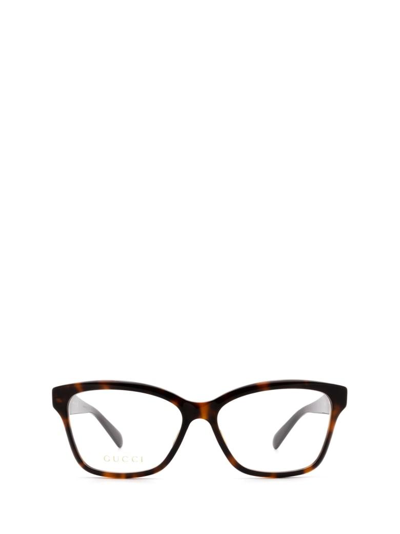 Gucci Gucci Gg0798o Havana Glasses - Havana