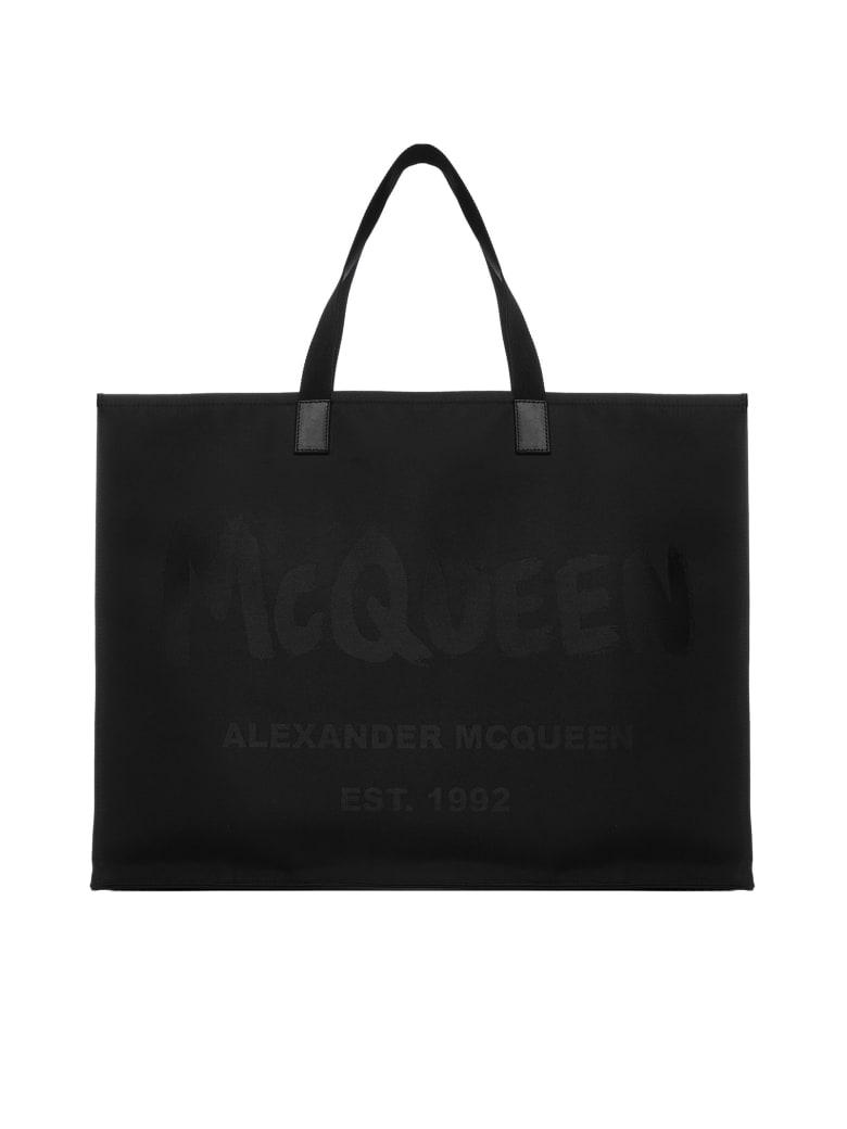 Alexander McQueen Tote - Black black