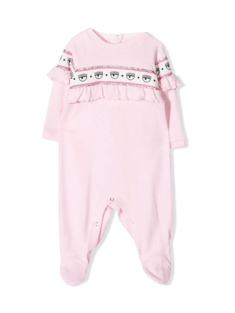 Chiara Ferragni Pink Cotton Pyjamas - Rosa