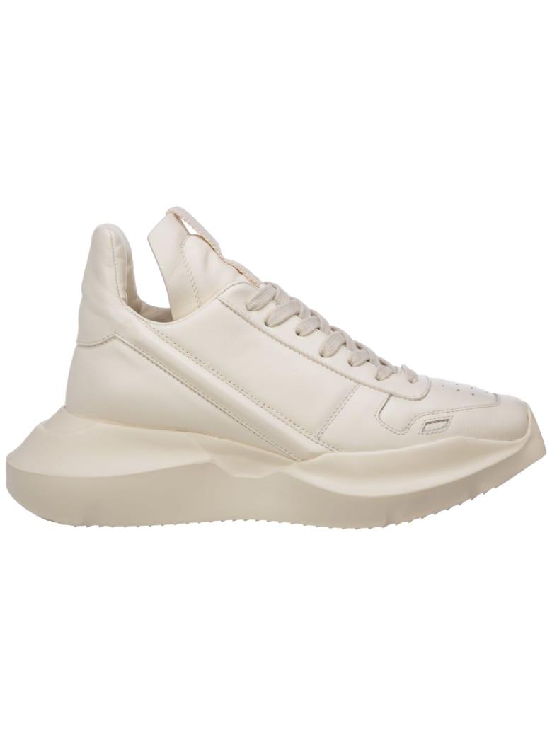 Rick Owens Geth Runner Sneakers - Milk