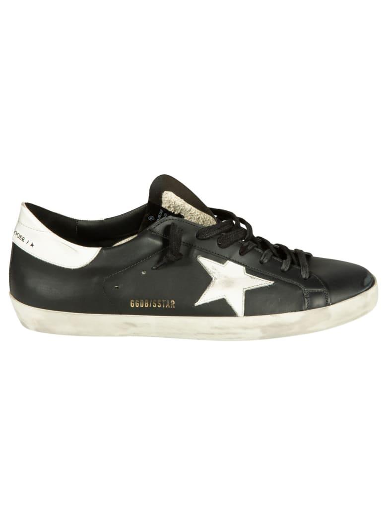 Golden Goose Superstar Classic Sneakers - Black/White