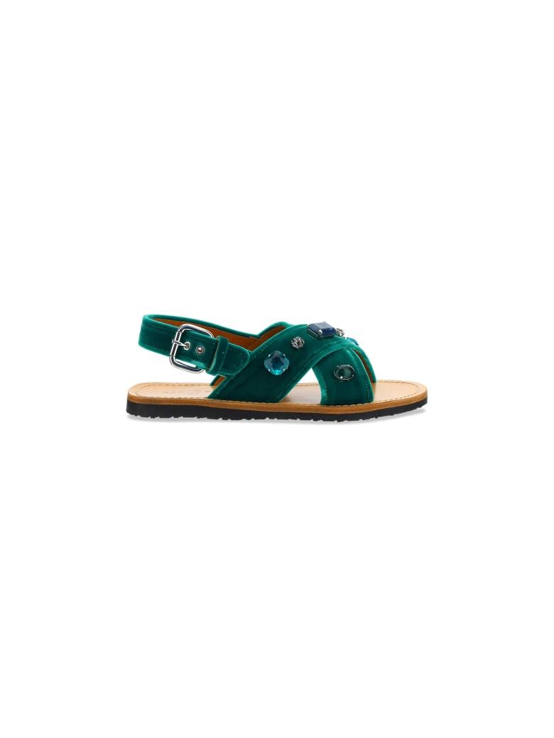 Car Shoe Sandals - Mango