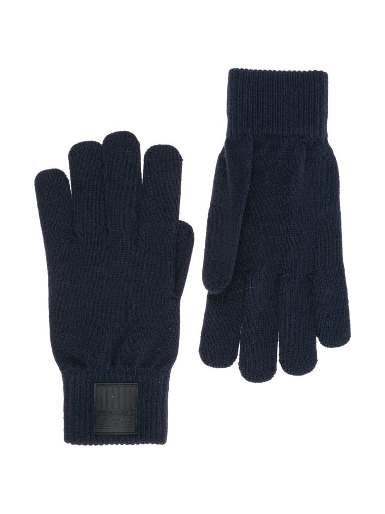 EA7 Emporio Armani Ea7 Pure New Gloves - Night blue