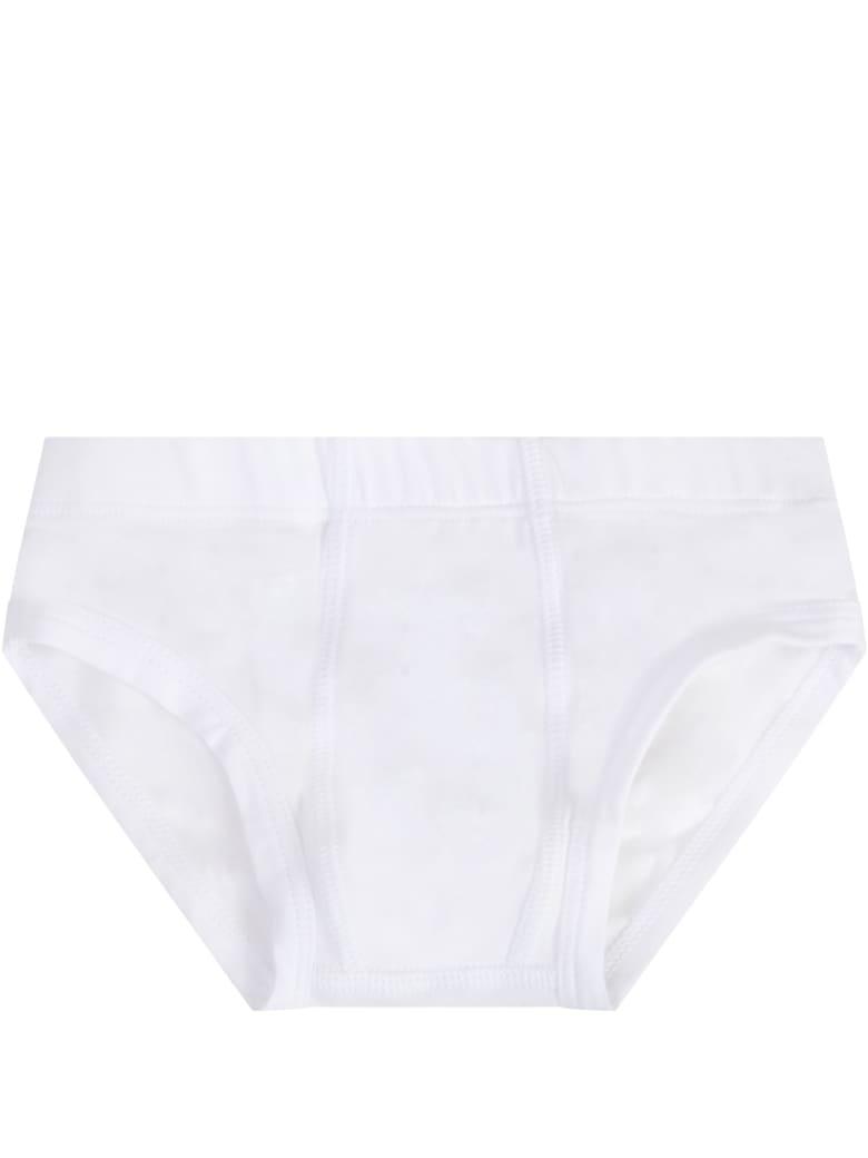 Story loris White Boxer For Boy - White