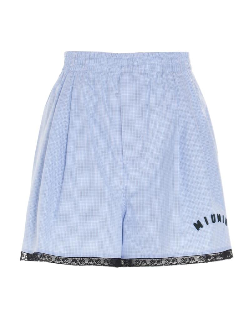 Miu Miu Short - Blu