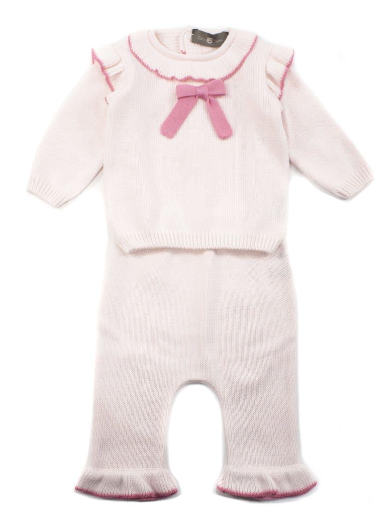 Little Bear Pink Cotton Set - Rosa