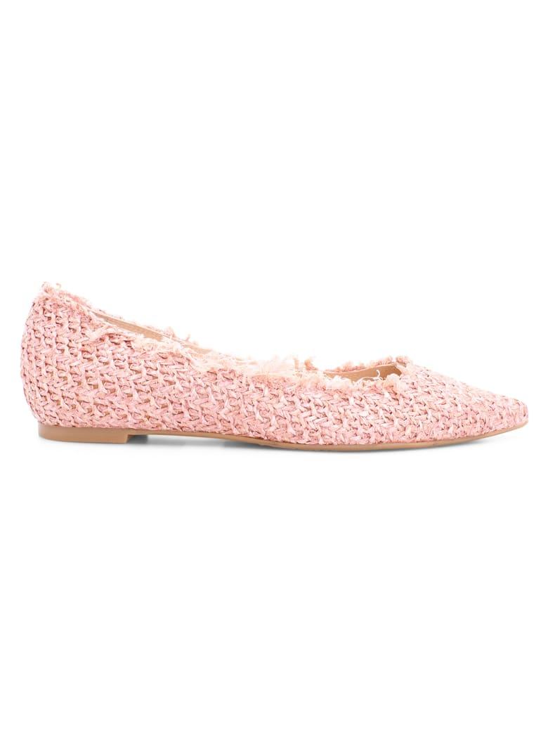 Ras 'harvest' Raffia Ballerina - Pink