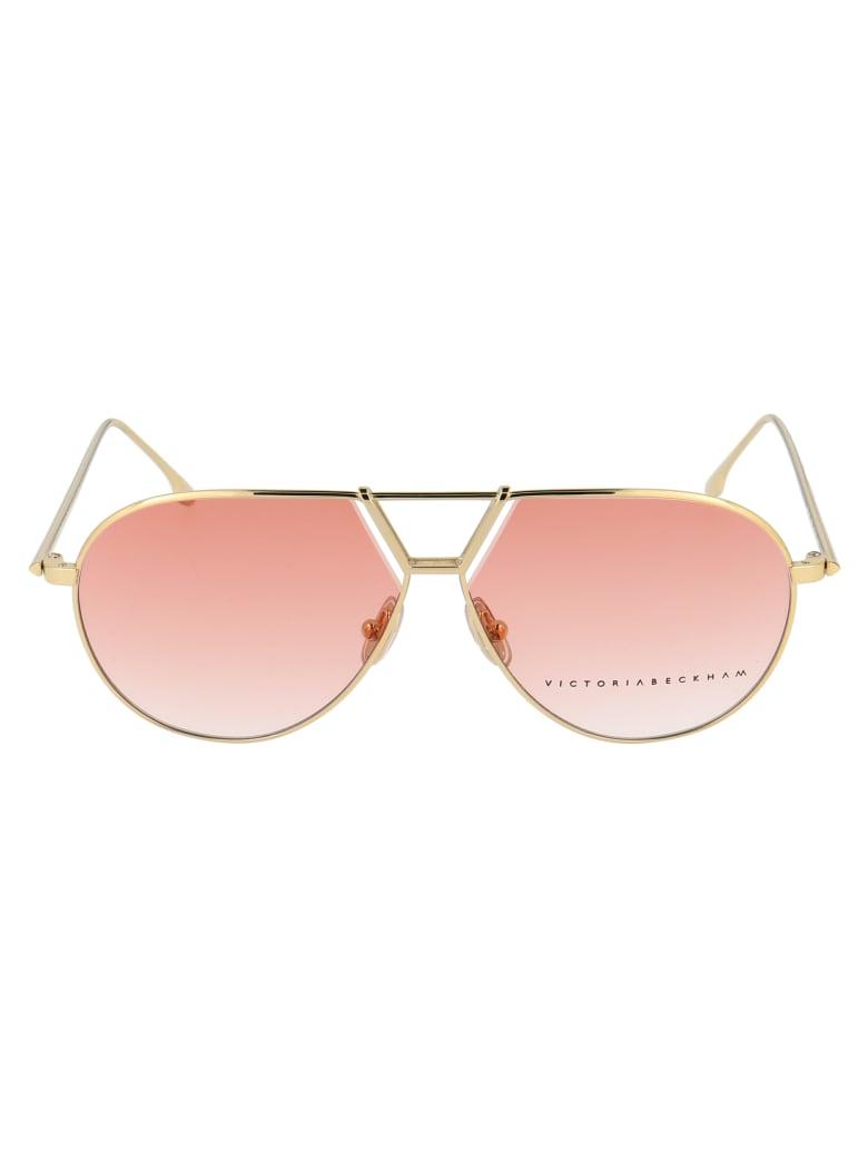 Victoria Beckham Vb2106 Sunglasses - 705 GOLD PEACH