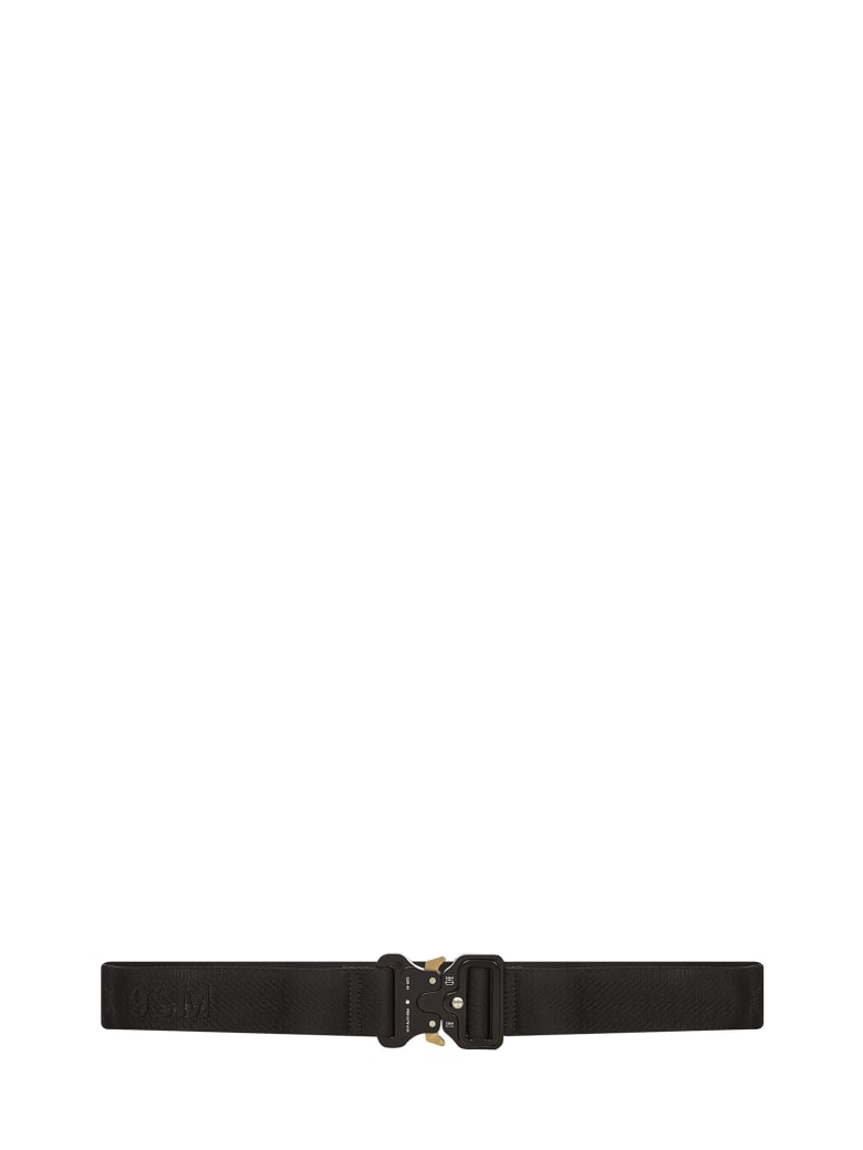 1017 ALYX 9SM Alyx Classic Rollercoaster  Belt - Black