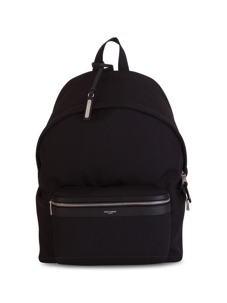 Saint Laurent City Backpack - NERO